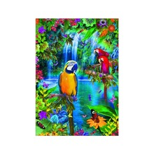 5D DIY diamond painting bird full round cross stitch mosaic crafts decoration