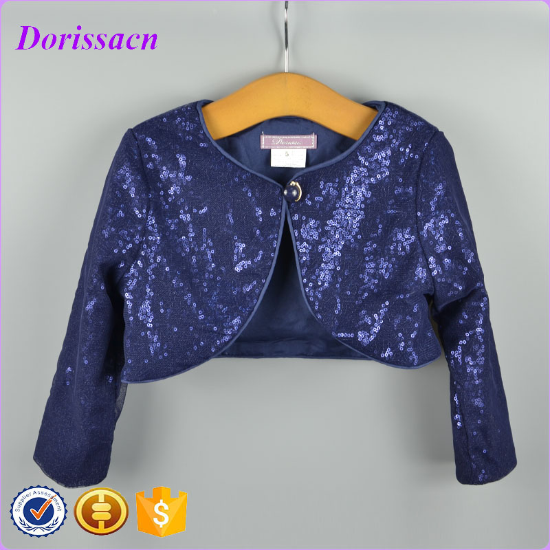2016 new cotton polyester girl bolero shrug cute baby kid clothes ...
