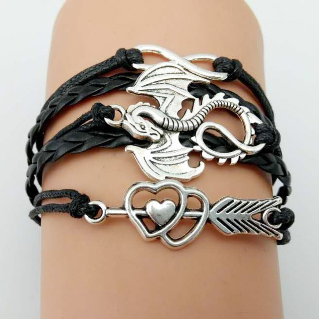 Game of Thrones Men Leather Bracelet