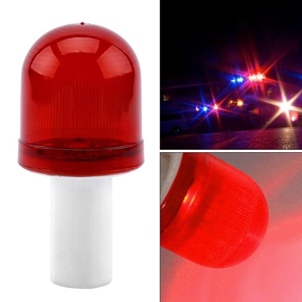 Bright LED Road Hazard Skip Light Flashing Scaffolding Safty Traffic Cone Topper Warning Light Road Block Lamp Drop Shipping 8led bright led solar powered traffic warning light barricade lights strobe tower warning lights road cone