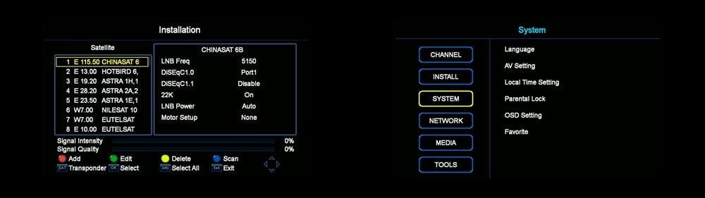 1 Year Europe 7 Clines Server GTMedia V7S HD Digital Satellite Receiver DVB-S2 V7S HD Full 1080P+USB WIFI Upgrade Freesat V7 15