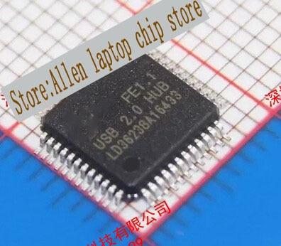 Free shipping 5pcs/lot USB Hub 2.0 host p FE1.1 QFP-48 new original