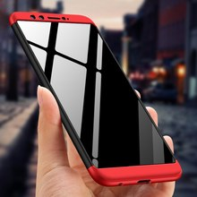 GKK For Huawei Honor 9 Lite Case 360 Full Body Protection Anti-knock 3 in 1 Hard Hybrid PC For Huawei Honor 8 Lite(China)