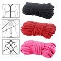 Juegos para adultos sexo bondage, alternativa provocativa suministros de algodón cuerda atada, bdsm servidumbre cuerpo fijo de la cuerda