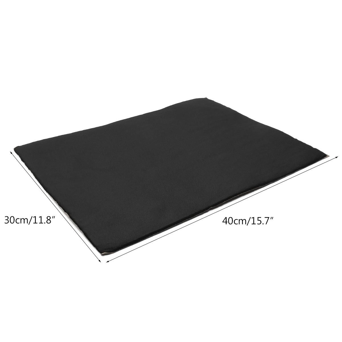 9Pcs Auto Car Sound Deadener Heat Material Insulation Self Adhesive Foam Sheet ...