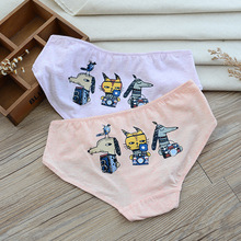 Fashion Cartoon Pants Funny Women Underwear Sexy Panties Briefs Girl Lingeries Shorts Underpant Solid Color Cotton Panty Female