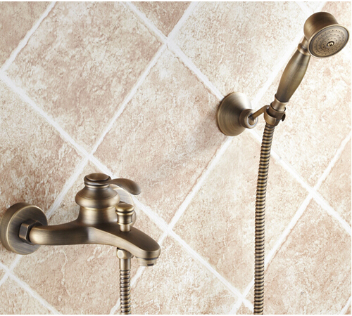Fashion Europe style quality brass bronze finished bathroom bathtub faucet set,shower faucet mixer set fashion high quality bronze finished