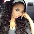 Loose Wave Brazilian Virgin Hair 250% Lace Front Human Hair Wigs Black Women Pre-Plucked Full Lace Human Hair Wig With Baby Hair