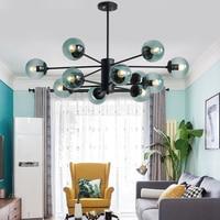 chandeliers antique lamp sconce light glass for bedroom living room ceiling fixtures