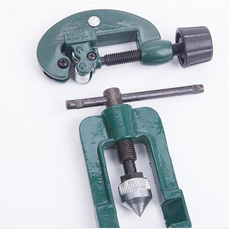 Manual Tube Expander  Hole Refrigeration Copper Pipe Flaring Tool 3-19MM 6 22 mm air universal hand tool refrigeration soft copper pipe manual tube expander