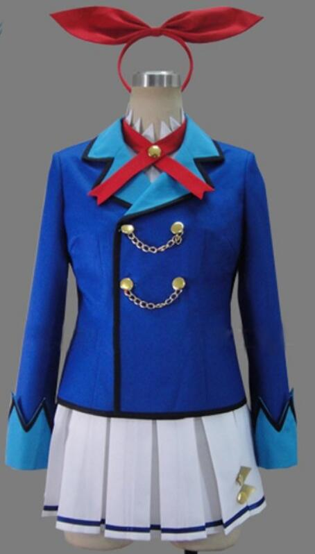 Aikatsu! Conception Hoshimiya Ichigo Costume de Cosplay lolita robe de soirée de marin costume d'halloween Costume personnalisé