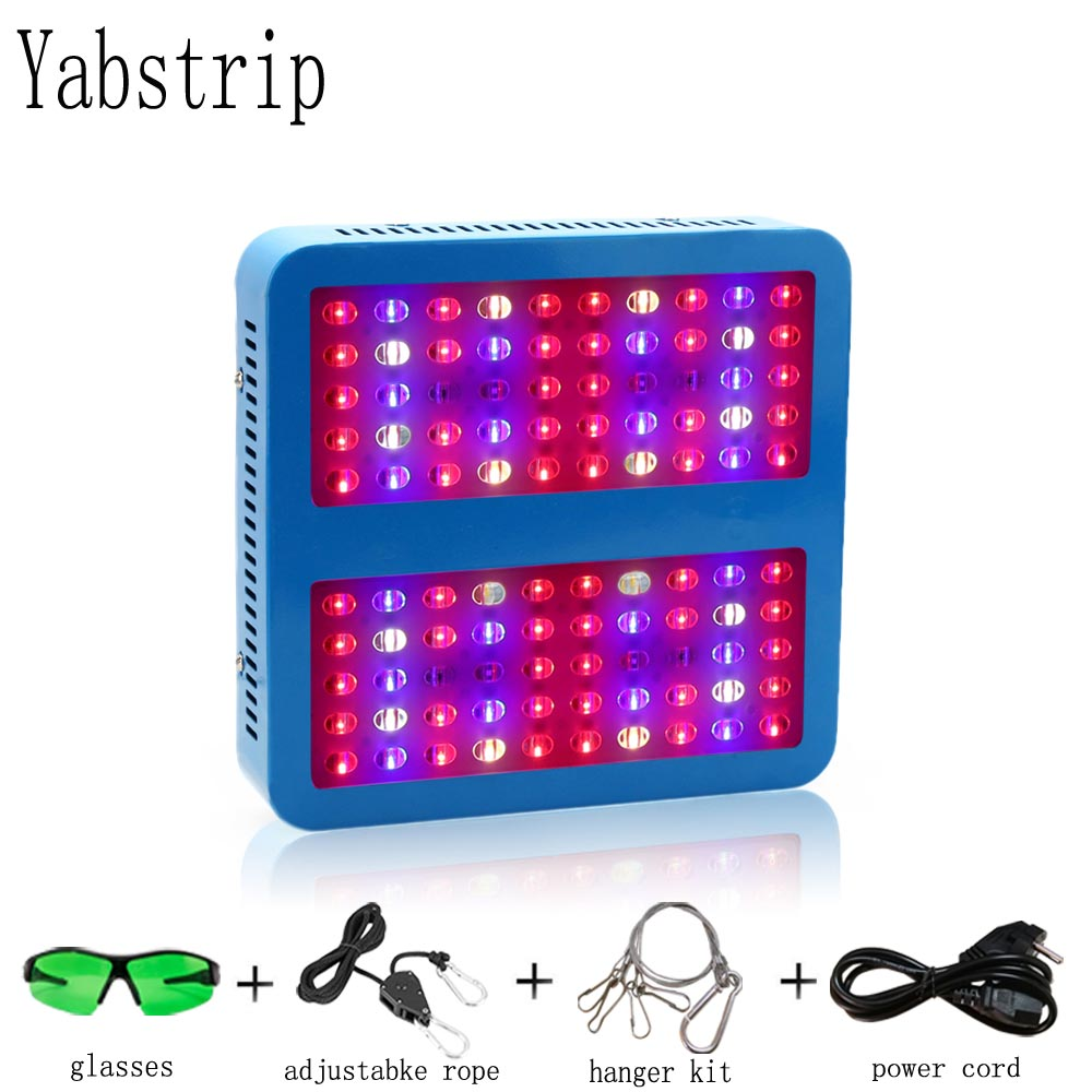 Yabstrip Growing Lamps LED Grow Light 1000W COB AC85-265V Full Spectrum Plant Lighting Fitolampy For Plants Flowers Seedling