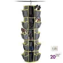 服靴保存袋 ぶら下げ靴収納オーガナイザー棚靴ホルダーオーガナイザーラック省スペース Organizador
