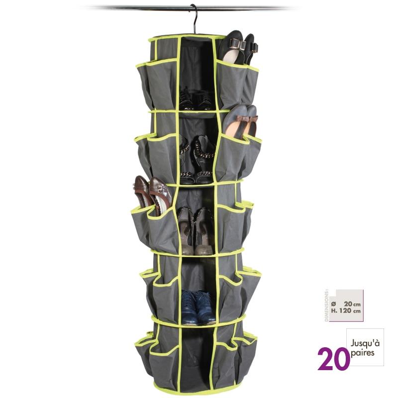 Závěsné boty Skladování organizátor police boty držák Pořadatel Rack Space Saving Organizador Oblečení boty ukládací tašky