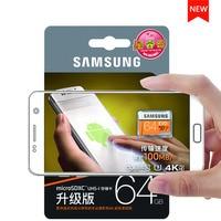 סמסונג החדש EVO כרטיס זיכרון 16 GB/32 GB/SDHC 64 GB/128 GB/256 GB/SDXC UHS-I כרטיסי מיקרו SD כרטיס TF פלאש U3 C10 Class10 משלוח חינם