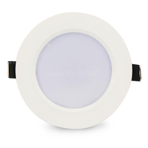 Image 2 - (10pcs/Lot) RGB 10W 5W LED Panel Light With Remote Control Recessed Ceiling Lamp Indoor Decoration Colorful Home Light