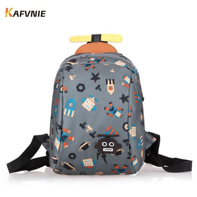 KAFVNIE Aged 1-3 Toddler Backpacks Anti Lost Design Mini Cartoon Schoolbag  Children School Bags 2ce683396421f