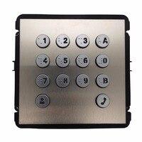 AHUA VTO2000A-K клавиатура модуль для VTO2000A-C, IP дверные звонки запчасти, видеодомофоны запчасти, управление доступом запчасти, дверные звонки запча...
