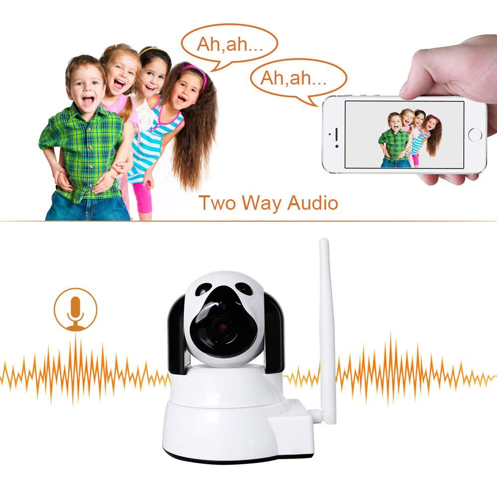 YYZ100SS-SNB caméra réseau petit chien bébé Mornitor HD sécurité à domicile Wifi sans fil intelligent téléphone Machine de surveillance à distance - 2