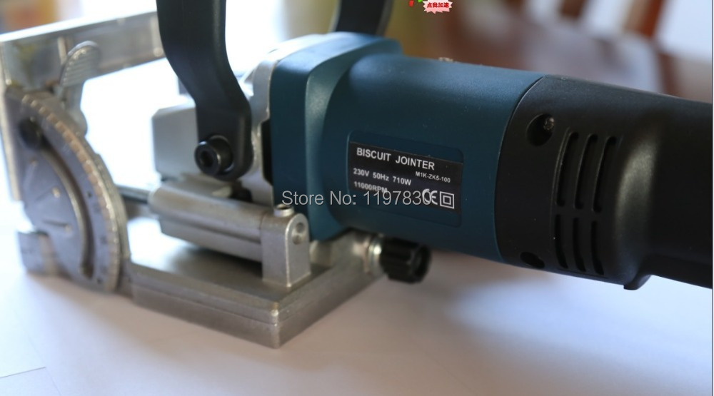 OEM high quality electric tool authentic woodworking tenoning machine biscuit machine puzzle machine groover copper motor