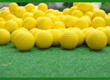 Hot Wholesale Indoor golf soft ball Golf practice balls Golf PU Balls golf supplies 300pcs lot