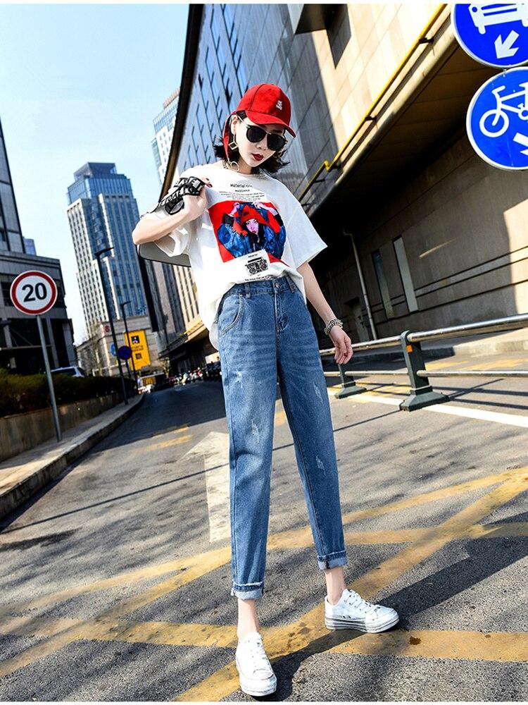 9199835f0a6 JUJULAND для женщин  большие размеры Высокая талия мыть светло голубой True  джинсовые штаны джинсовая куртка