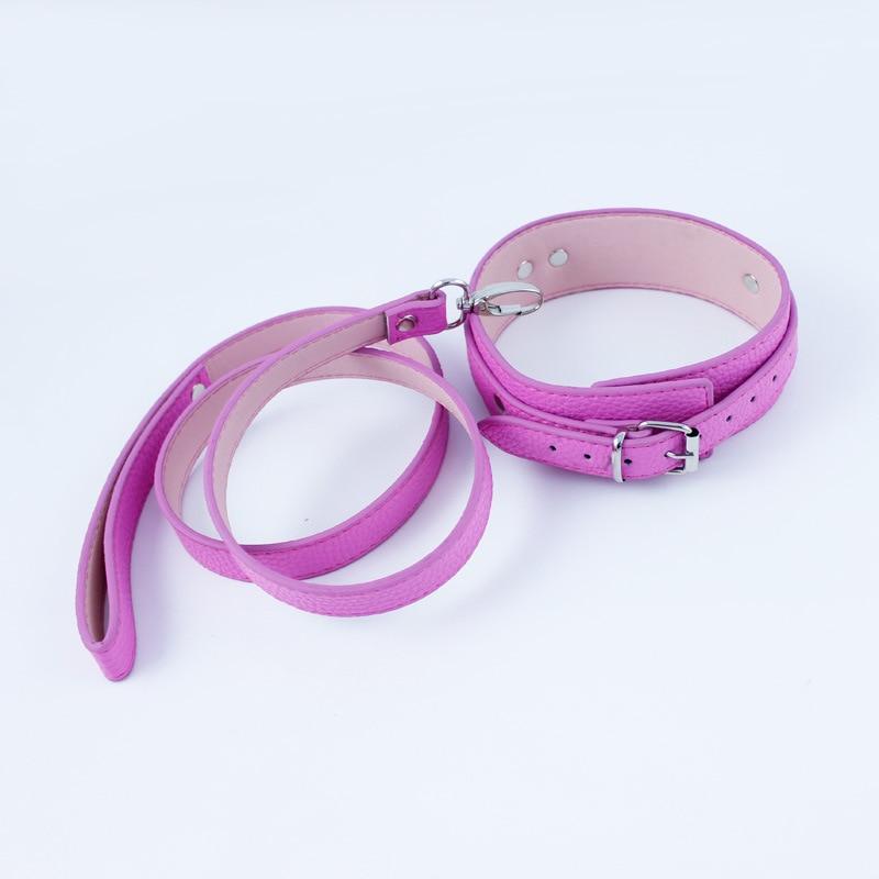 Slave collar and leash
