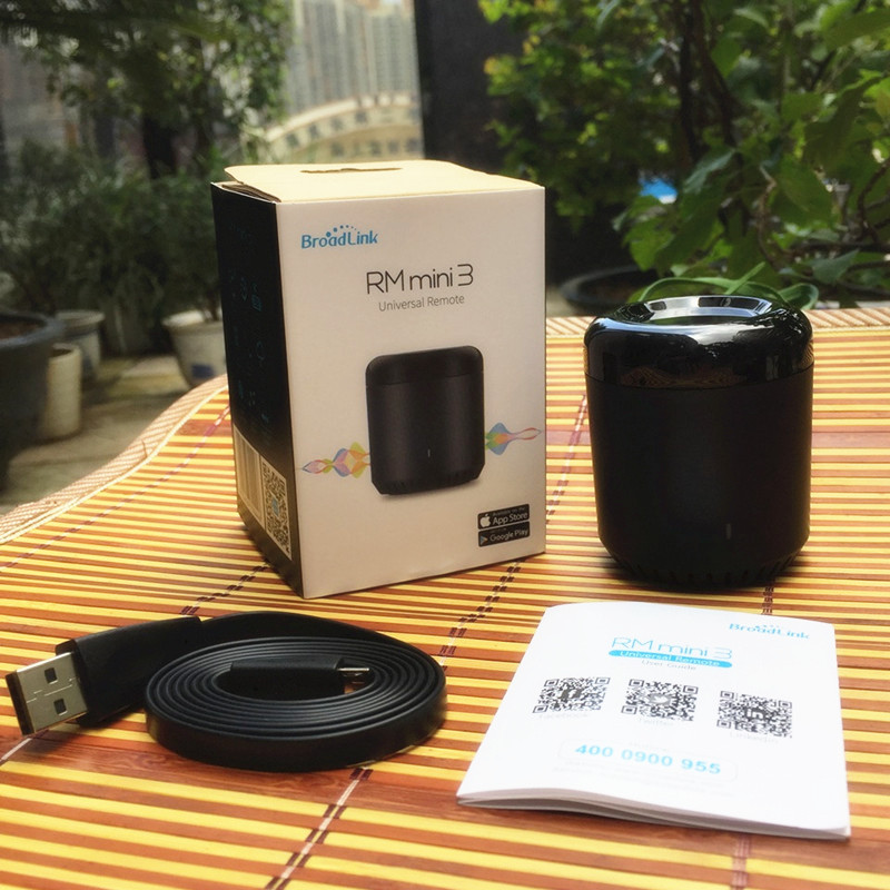 Hot Sale] Broadlink RM Mini3 Black Bean Universal Remote, WiFi + IR