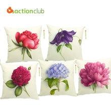 Actionclub Car Decor Cushion Pillows New 2016 Flowers Decorative Cushions Throw Pillow Decor Funda Cojines HH547