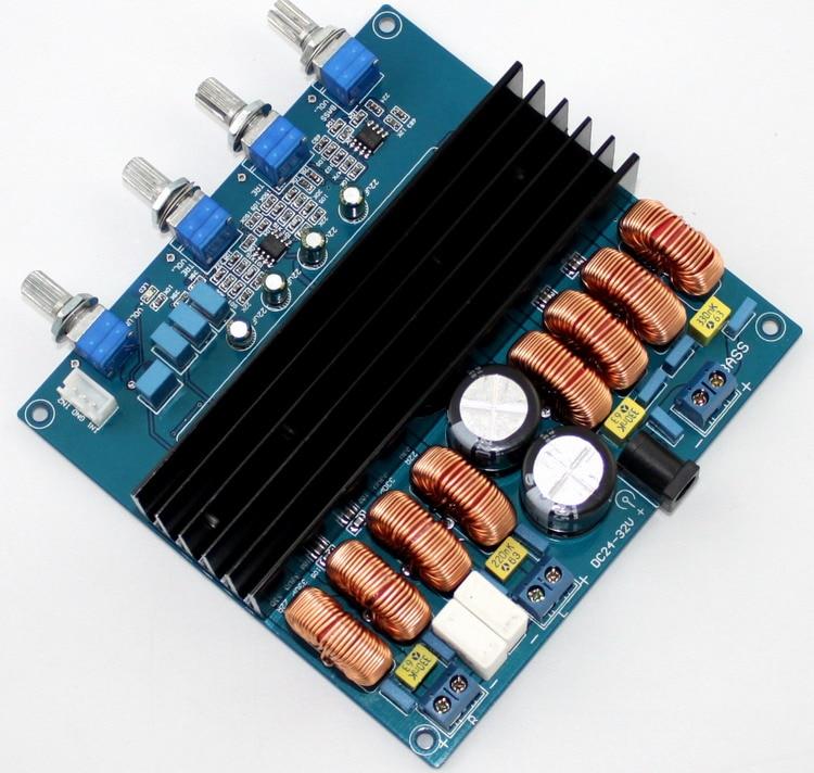 TDA7498 2.1 Class D Digital Amp Amplifier Board 200W+100W+100W