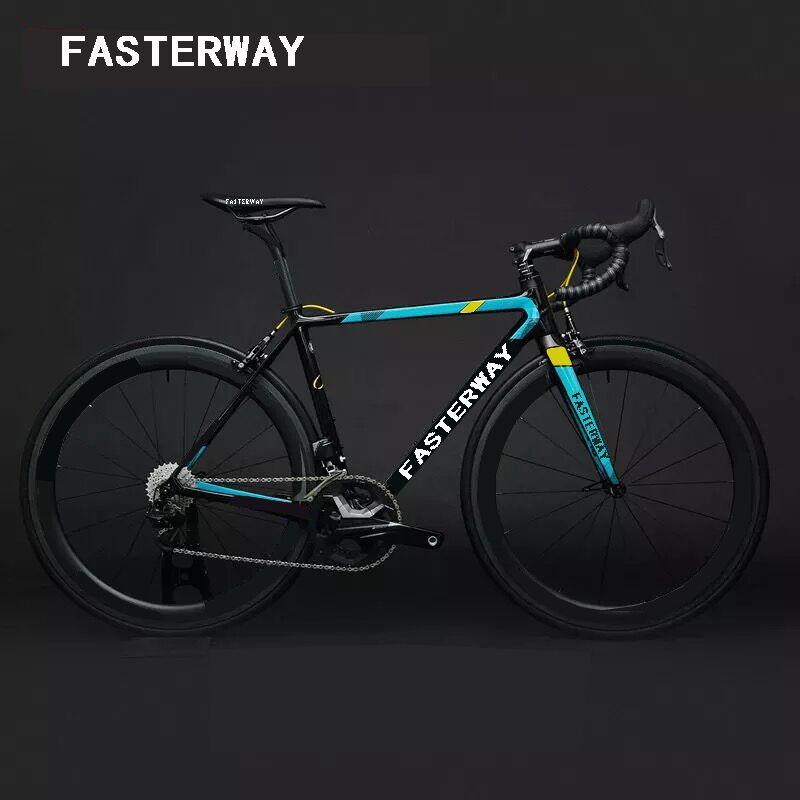 2018 T1100 UD bleu noir couleur GALLIUM PRO ASTANA équipe version carbone route entière vélo UT R8000 groupe complet vélo de route