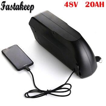 TigerShark ליתיום יון 48 V 20Ah חשמלי אופני סוללה עם USB fit עבור 48 v 1000 W Bafang ערכת מנוע