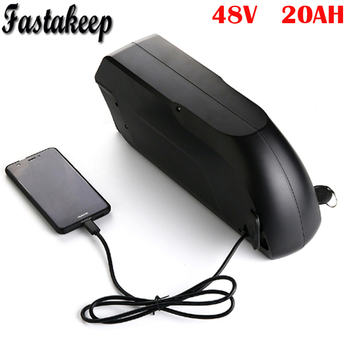 TigerShark ליתיום יון 48V 20Ah חשמלי אופני סוללה עם USB fit עבור 48v 1000W Bafang ערכת מנוע-בסוללה לאופניים חשמליים מתוך ספורט ובידור באתר