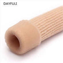 Горячая Распродажа, тканевый чехол, ребристая вязка, гелевые колпачки для пальцев, защитные колпачки, крышки, трубки для обезболивания, средства для ухода за ногами