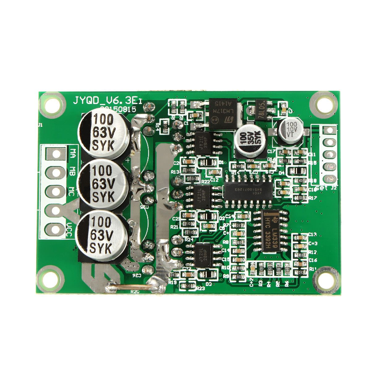 Dc Motor Controller 24v 500w Pwm Control Speed 12v By Tl494 36v Brushless Drive Board Balanced Car Bldc