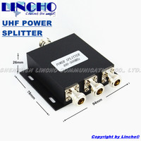 Free Shipping 3 Way 450MHz Micro Strip Power Splitter 400 500MHz UHF Two Way Radio Divider