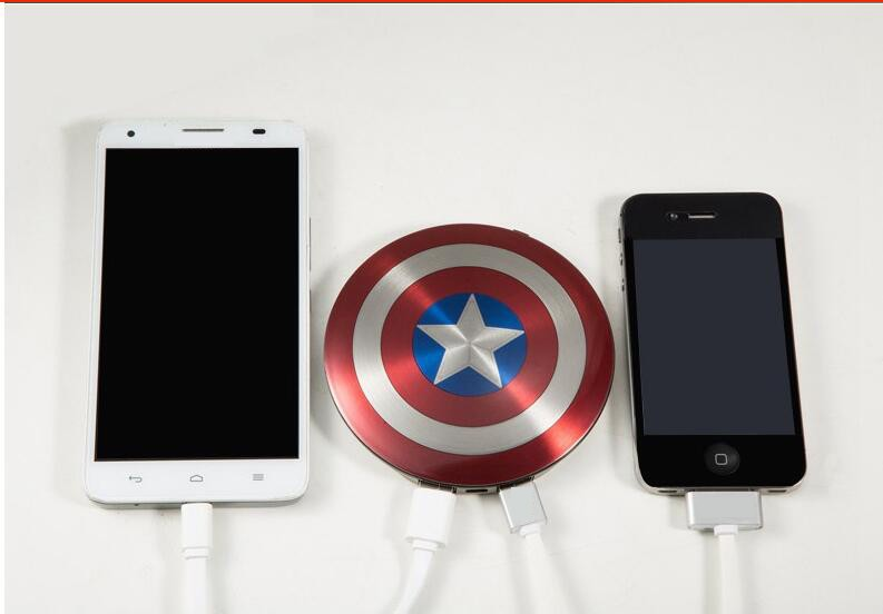 2016-Avengers-Captain-America-Shield-Power-Bank-Charger-USB-6800mAh-for-all-mobile-phone-with-Package (3)