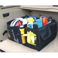 Car trunk foldable Organizer Auto Storage Box For chevrolet captiva opel mokka clio 2 citroen c4 accessories corolla golf mk2
