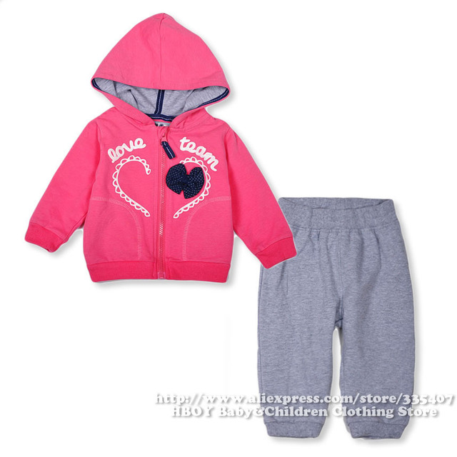46e5e5522 Brand ZY baby 2pcs/set Baby Girls Clothing sets Jacket Coat Pant Pink  Princess Bow Outerwear Spring Summer Children Kid 2014 New
