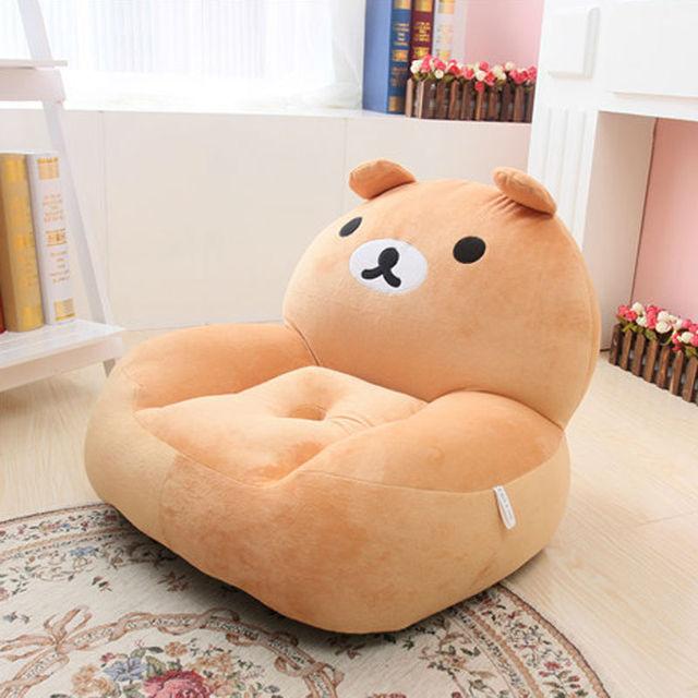 Mini sofa kids chair children cushion armchair bean bag ...