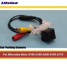 For Mercedes-Benz-A-Class W176- Car Back Up Camera / Rear View Parking Camera liandlee anti laser fog lamps for mercedes benz a class w176 2012 2015 car rear distance warning alert line safe drive light