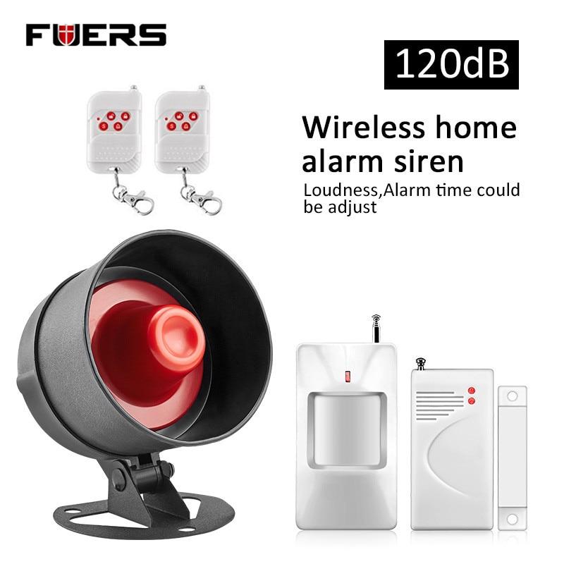 bilder für Fuers Laut Neue Einfach DIY einstellung Home Security alarmanlage System red licht Sirene Horn Anti-theft für garage und lager