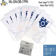 먼지 봉투 Miele 3D GN S2000 S5000 S5211 S5212 S5981 S8000 완료 C2 C3 클래식 C1 S2 S5 S8 Miele 진공 청소기 부품