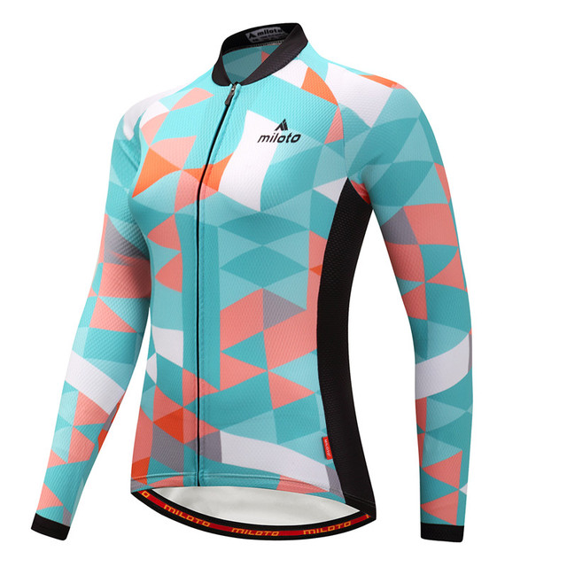 Weimostar 2018 Winter Pro Team Bike Cycling Jersey Long Sleeve Women  Thermal Fleece Cycling Clothing Windproof Bicycle Jersey ddad76472