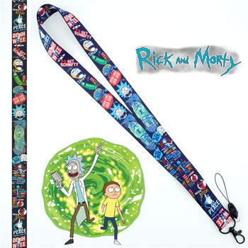 Rick and Morty Lanyard