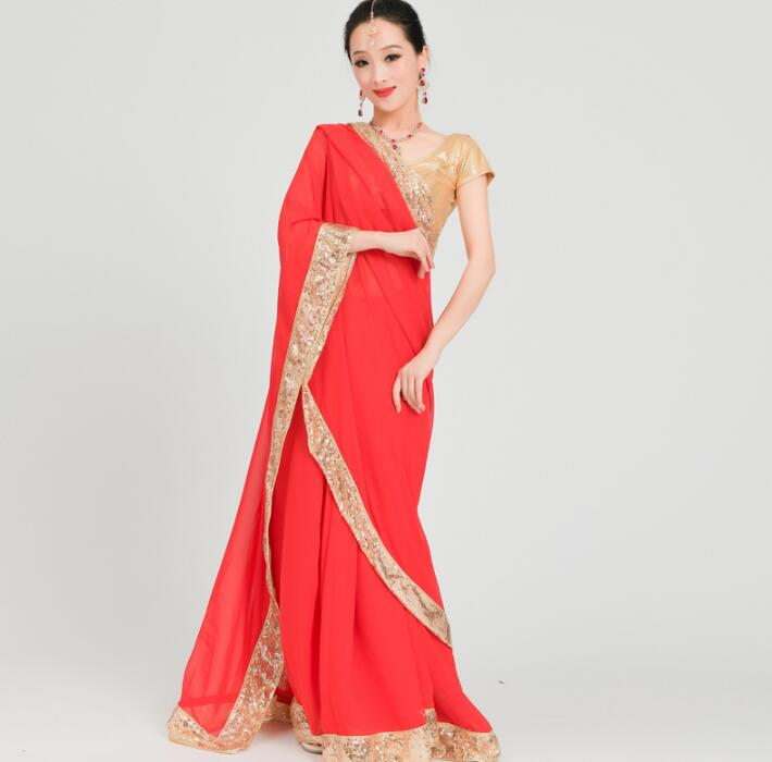 India Sarees Woman Beautiful Lehenga Choli Dance Costume India Style Performance Sets...