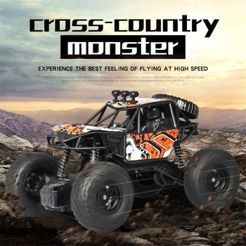 цена на S-003 1/20 Scale 2.4Ghz 4WD High Speed RC Crawler Climber Buggy Off-Road Rock RC Remote Control Car Model RTR with Waterproof HO