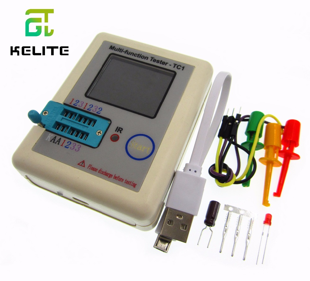 2017 Transistor tester Diodes diodes LCR TC full color graphics display