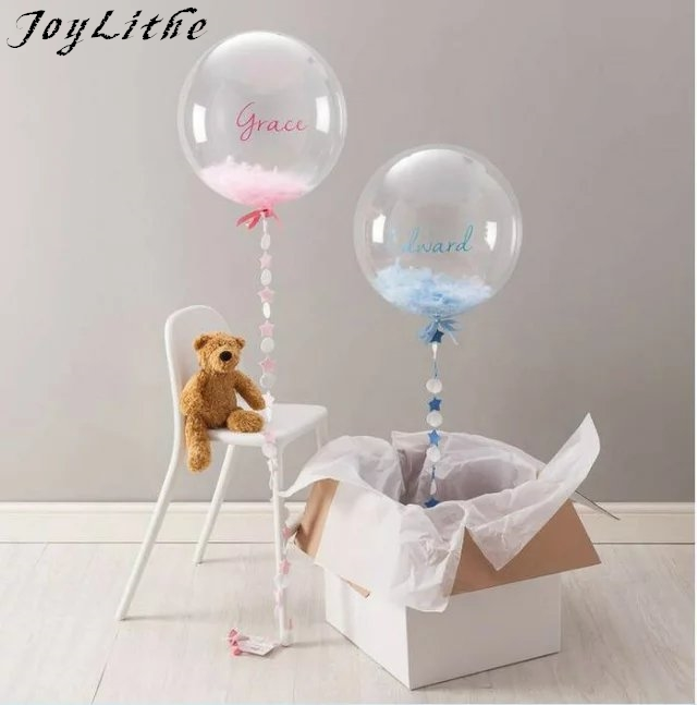 10PC 10 Transparente Clear Balloon bubble balloon High QualityPVC Repeated Use Toys Suit for Party Wedding Celebration Supplies
