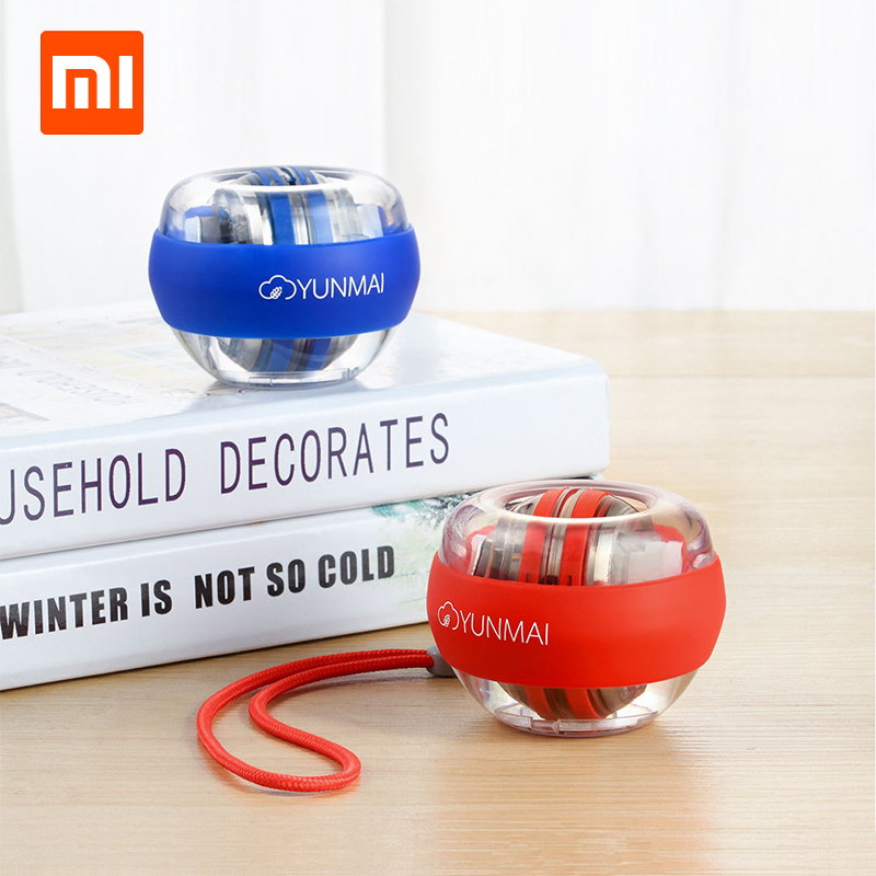 Image 2 - Xiaomi Mijia YunMai Powerball Carpal Training Apparatus Power Wrist Ball Trainer LED Gyro Ball Essential Spinner Antistress Toy-in Smart Remote Control from Consumer Electronics
